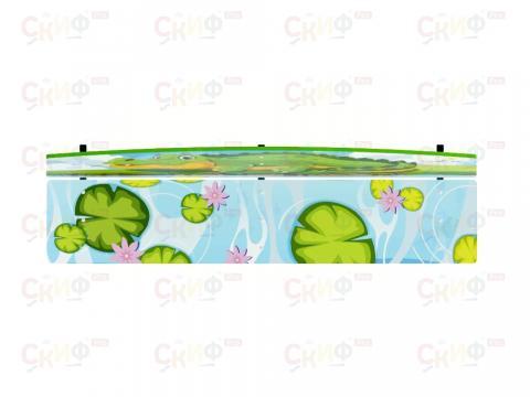 Скамейка детская Крокодил МФ 41.01.01