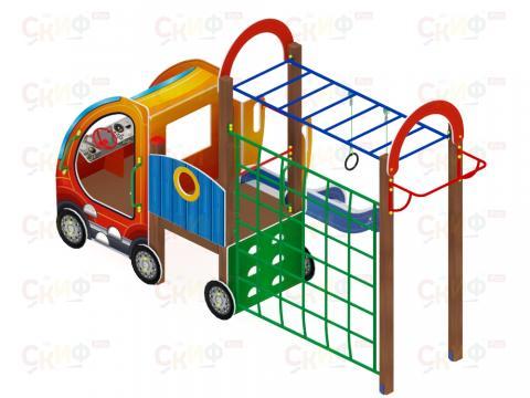 Детский игровой комплекс «Машинка с горкой 2» ДИК 1.03.1.02 Н 750