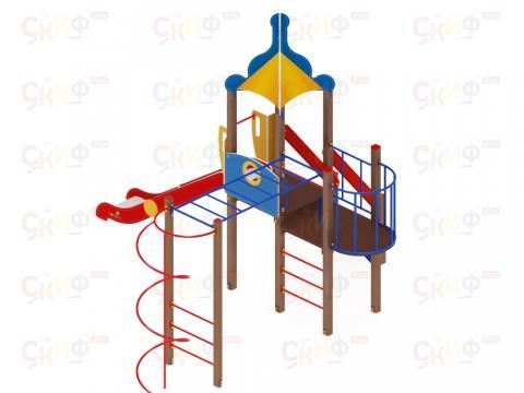 Детский игровой комплекс «Морской» ДИК 2.17.01 H=1500