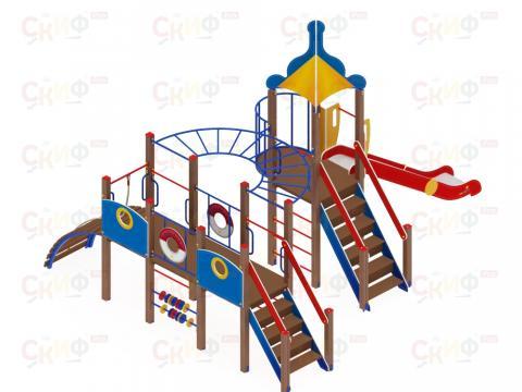 Детский игровой комплекс «Морской» ДИК 2.17.03 H=1500