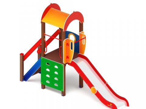 Детский игровой комплекс «Играйте с нами» ДИК 2.01.1.01 H=1200
