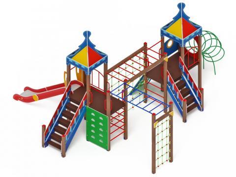 Детский игровой комплекс «Волшебный город» ДИК 2.19.01 H=1500