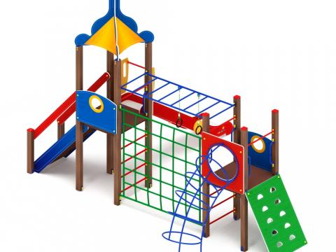 Детский игровой комплекс «Морской» ДИК 2.17.09 H=1500