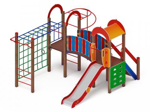 Детский игровой комплекс «Рада» ДИК 2.01.2.03 H=1200