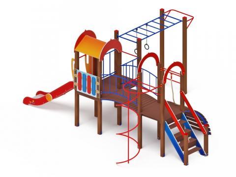 Детский игровой комплекс «Рада» ДИК 2.01.2.08 H=1200
