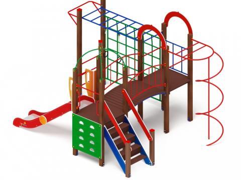 Детский игровой комплекс «Навина» ДИК 2.09.04 H=1200