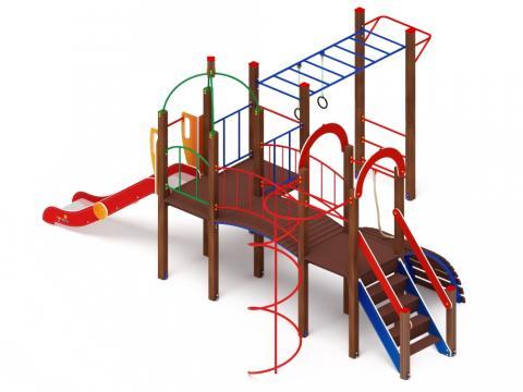 Детский игровой комплекс «Навина» ДИК 2.09.05 H=1200