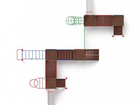 Детский игровой комплекс «Навина» ДИК 2.09.08 H=1200