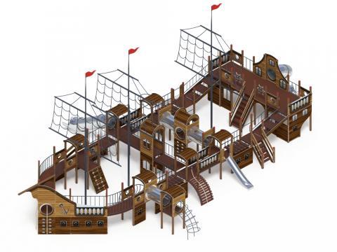Детский игровой комплекс «Баркетина» ДИК 2.03.3.06-02 Н=1200 Н=1500 Н=2000