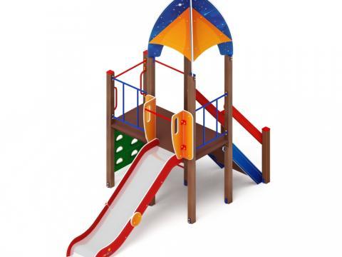 Детский игровой комплекс «Космопорт» ДИК 2.14.08 H=1200