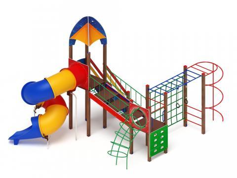 Детский игровой комплекс «Космопорт» ДИК 2.14.09 H=2000