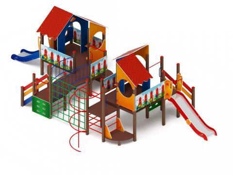 Детский игровой комплекс «Теремок» ДИК 2.07.03 H=1200, 750