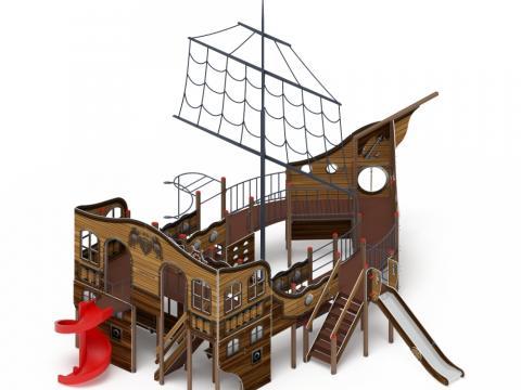 Детский игровой комплекс «Фрегат» ДИК 2.03.3.04-01 H=1500 H=2000