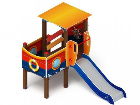 Детский игровой комплекс «Катерок»  ДИК 1.03.3.01 H=750