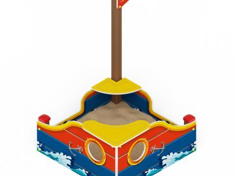 Песочница Кораблик ИО 5.03.01