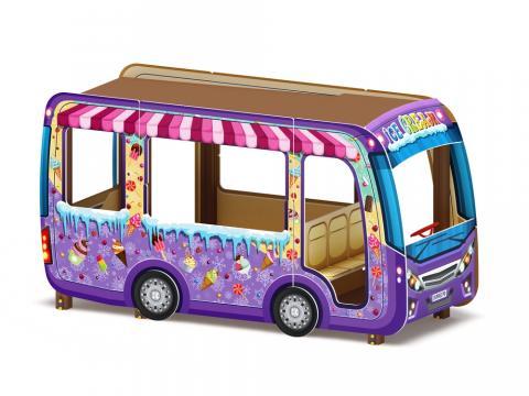 Беседка Автобус - мороженое МФ 10.03.14