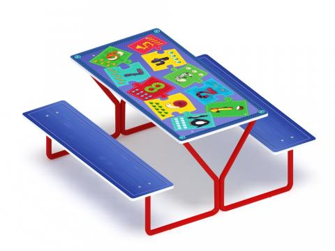 Столик детский МФ 31.01.07 Арифметика