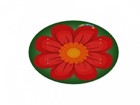 Навес для песочницы Цветок ИО 7.01.03