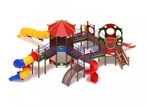 Детский Игровой комплекс «Карнавал ДИК 2.22.05 H=2000, H=1200