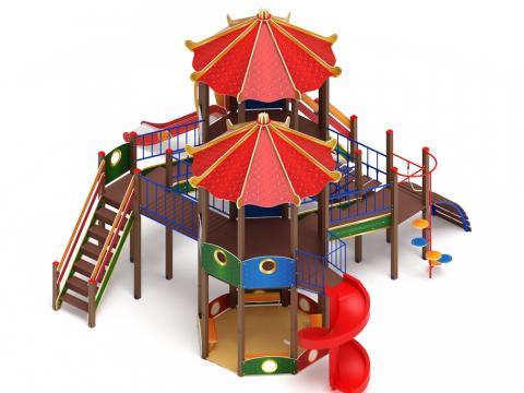 Детский Игровой комплекс «Карнавал ДИК 2.22.04 H=2000, H=1200