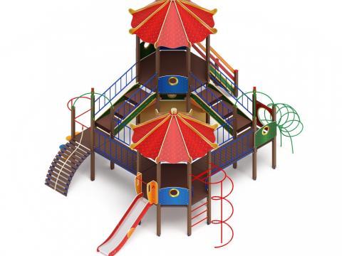Детский Игровой комплекс «Карнавал ДИК 2.22.06 H=1200