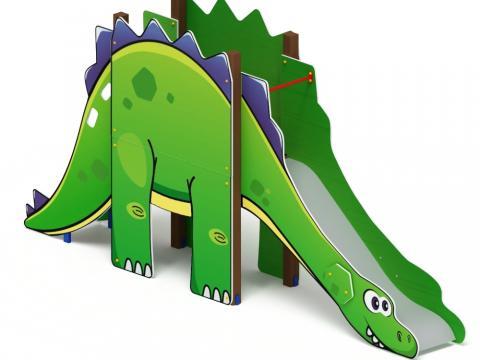 Горка Динозавр H-1200 ИО 41.27.01