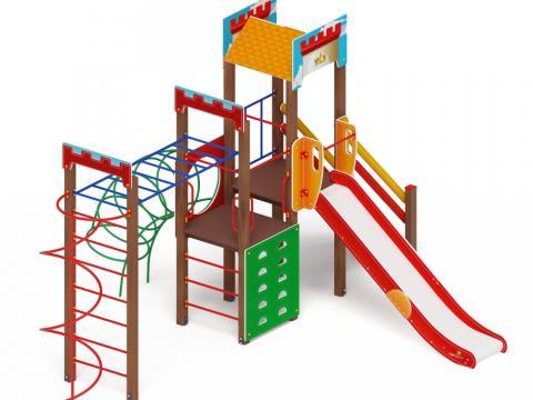 Детский игровой комплекс «Замок» ДИК 2.18.03-01 H=1500
