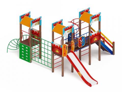 Детский игровой комплекс «Замок» ДИК 2.18.05-01 H=1500