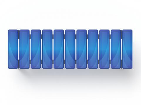 Скамья (принт джинс) МФ 42.01.14-01