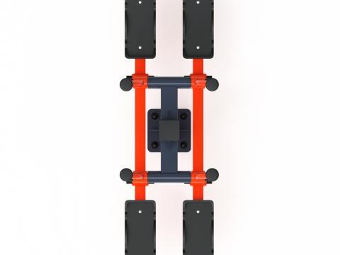 Тренажер уличный «Двойные лыжи» СТ 009-01