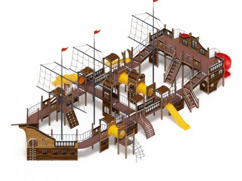 Детский игровой комплекс «Баркетина» ДИК 2.03.3.06-01 Н=1200 Н=1500 Н=2000