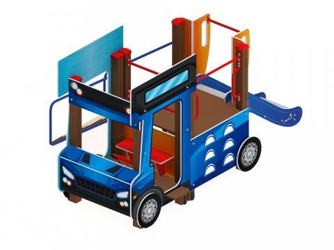 Детский игровой комплекс «Грузовичок» ДИК 1.03.2.01 H=750
