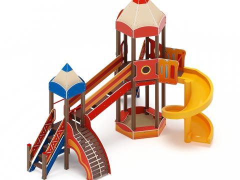 Детский игровой комплекс  «Карандаши» ДИК 2.26.05 Н=2000