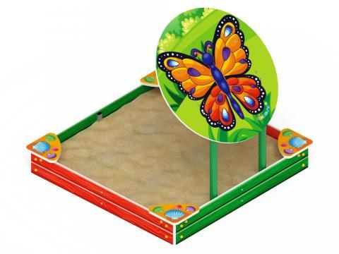 Песочница с навесом-бабочка  ИО 5.01.09-01