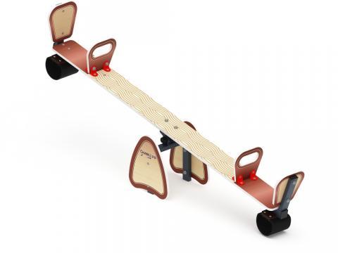 Качалка балансир со спинкой ИО 21.М.01.01-П.01