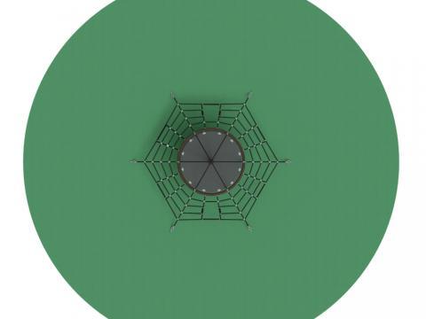 Пирамида (на резиновое покрытие) СК 2.05.06-РК (сетка)