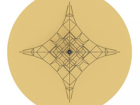 Пирамида СК 2.05.08 (сетка)