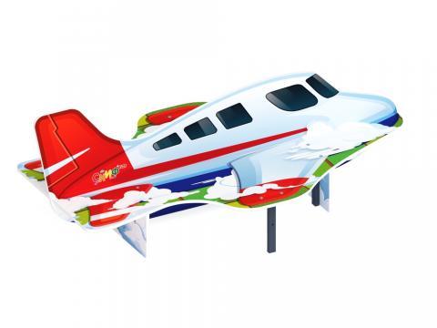 Скамейка детская Самолетик МФ 41.03.03