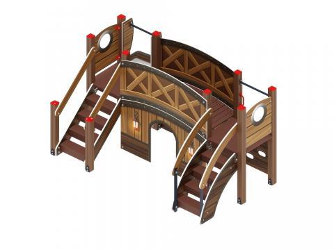 Детский игровой комплекс «Карапуз» ДИК 1.001.01-01  H=900