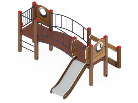 Детский игровой комплекс «Карапуз» ДИК 1.001.03-01 H=750