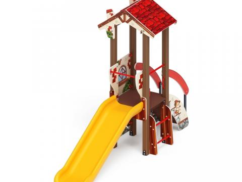 Детский игровой комплекс «В гостях у сказки» ДИК 1.05.01-01 H=900