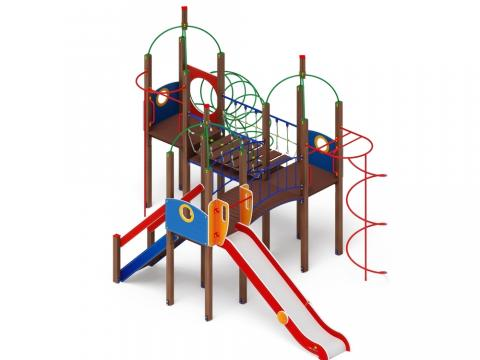 Детский игровой комплекс «Навина» ДИК 2.09.06 H=1500