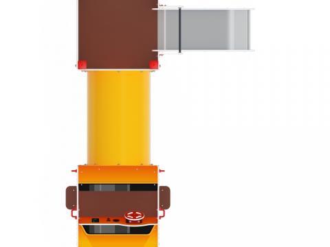 Детский игровой комплекс «Машинка с горкой 3» ДИК 1.03.1.03-01 Н 750