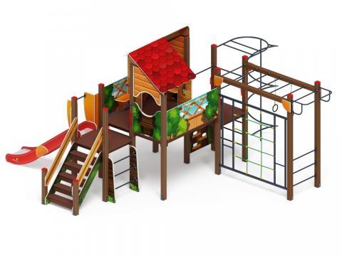 Детский игровой комплекс «Теремок» ДИК 2.07.02-01 Н=1200