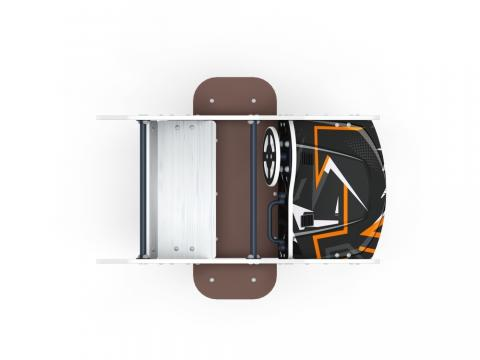 Качалка на пружине Машинка (средняя) ИО 23.03.01-05