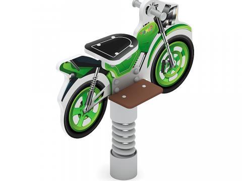 Качалка на пружине Мотоцикл (зеленый) ИО 22.03.01-01