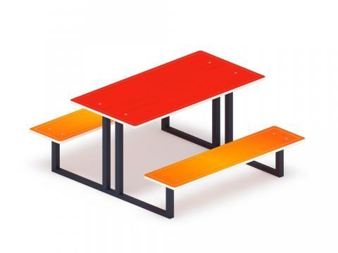 Столик детский МФ 31.01.05-01