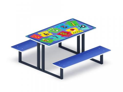 Столик детский Арифметика МФ 31.01.07-01