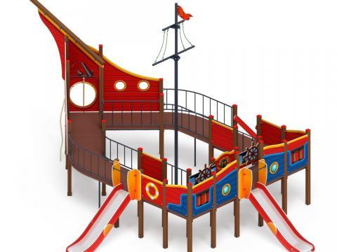 Детский игровой комплекс «Фрегат малый» ДИК 2.03.3.04-04 H=1200
