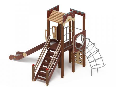 Детский игровой комплекс «Замок» ДИК 2.18.04 H=1500